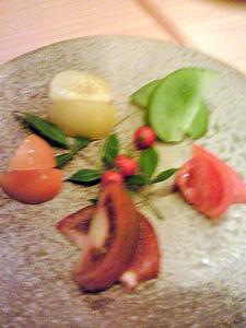 宗村食堂のトマトづくし