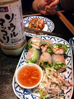 タイ料理=ソウルマッコリ(120119)