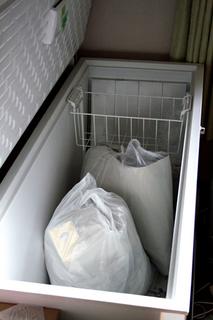 冷凍庫に生ゴミ