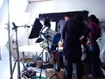 F1スタジオ撮影風景